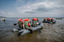22.08.2020 -  Zaspy nadzalewem Jeziorsko 9 LBOT Szkolenie przeciwkryzysowe wsrodowisku wodnym Fot.  DWOT
