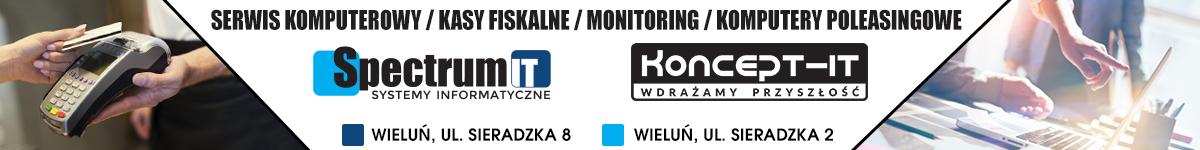 Spectrum-IT partner Comarch, kasy fiskalne, serwis komuterowy, Wieluń