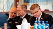 WKomendzie Powiatowej Państwowej Straży Pożarnej wWieluniu odbyła się narada podsumowująca rok 2017