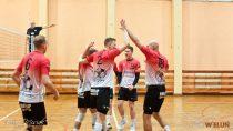 WKS Siatkarz Wieluń ograł drużynę LUKS Dobroń