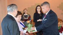 Uroczystości 50. lecia pożycia małżeńskiego wGminie Wierzchlas