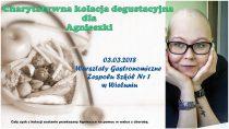 3 marca odbędzie się kolacja degustacyjna narzecz chorej Wielunianki Agnieszki Kubis
