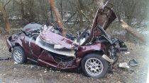 Tragiczny wypadek nadrodze nr74 wRaduckim Folwarku