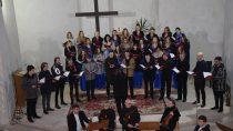 Trzy chóry wystąpiły podczas Koncertu Pasyjnego wkościele p.w. Św. Barbary