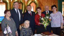 Uczczono setne urodziny pani Stafanii Sut zBiałej Drugiej