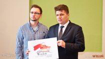 Bartosz Fabrowski zwycięzcą konkursu nalogo wieluńskich obchodów 100-lecia odzyskania niepodległości