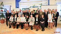 Zarząd Fundacji naRzecz Rozwoju Powiatu Wieluńskiego uroczyście podziękował wszystkim darczyńcom iwolontariuszom Fundacji