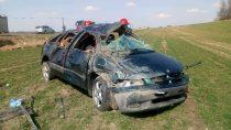 Nadrodze relacji Mokrsko – Chotów doszło dowypadku drogowego