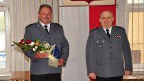 Dzisiaj uroczyście powierzono obowiązki nowemu Komendantowi KPP wWieluniu