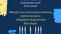 Wieczór autorski Aleksandry Lach i Julii Lesiak