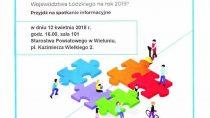Spotkanie w sprawie Budżetu Obywatelskiego Województwa Łódzkiego