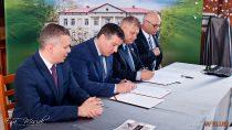 ZS nr2 wWieluniu podpisał List Intencyjny zespółką ZUGiL