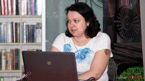 Warsztaty kreatywnego pisania wMiGBP wWieluniu poprowadziła Magdalena Pioruńska