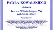 Recital fortepianowy Pawła Kowalskiego