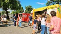 Wweekend wieluńskich smakoszy karmią żarciowozy wramach Przystanku Food Truck Wieluń Wiosna 2018