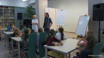 Warsztaty tworzenia komiksu wbibliotece zSzymonem Telukiem