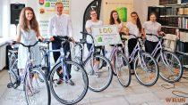 Sześć rowerów otrzymało sześciu liderów szkół, podsumowanie akcji