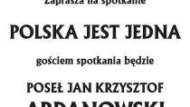 Spotkanie w Białej z posłem Janem Krzysztofem Ardanowskim