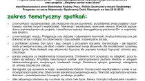 Zajęcia dla mieszkańców gminy Mokrsko w wieku 60+