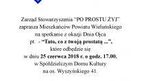 """Spotkanie z okazji Dnia Ojca pt. – """"Tato, co z twoją prostatą"""""""