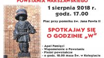Uroczyste obchody 74. rocznicy wybuchu Powstania Warszawskiego