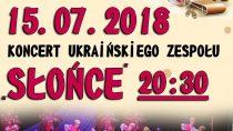 """Koncert ukraińskiego zespołu """"Słońce"""""""