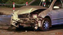 Kolejny wypadek wWieluniu naskutek nieudzielenia pierwszeństwa przejazdu