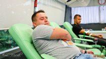 """Strażacy kolejny raz oddali krew wramach akcji """"Ognisty ratownik – gorąca krew"""""""