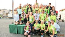 Prawie pół tysiąca biegaczy wzięło udział wIV Wieluńskim Biegu Pokoju iPojednania