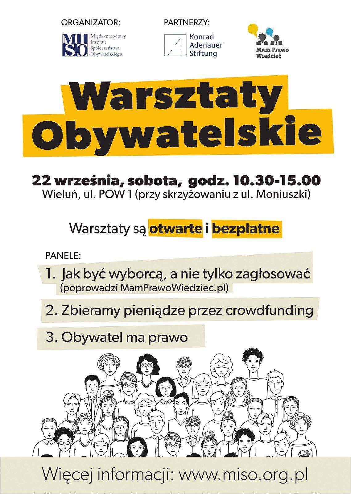 b147d8624ddb99 Warsztaty odbędą się 22 września w godz. 10:30 – 15:00 w Wieluniu przy ul.  POW 1. Podczas warsztatów dowiesz się między innymi o tym, jak zostać  świadomym ...