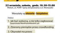 """""""Warsztaty Obywatelskie"""" w Wieluniu"""