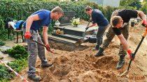 Biuro Poszukiwań iIdentyfikacji Instytutu Pamięci Narodowej wydobyło szczątki czterech osób nawieluńskim cmentarzu