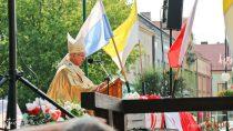 Msza Święta podczas obchodów 79. rocznicy wybuchu II Wojny Światowej wWieluniu