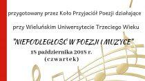 Wieczór literacki z okazji 100. rocznicy odzyskania przez Polskę niepodległości