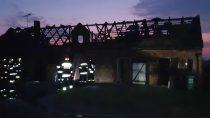 Jedna osoba ciężko ranna naskutek pożaru iwybuchu butli zgazem wBieniądzicach