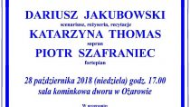 Spektakl muzyczno – teatralny Fryderyk Chopin Homo Artifex