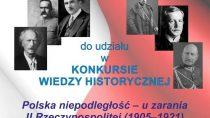 Konkurs z okazji 100-lecia odzyskania Niepodległości
