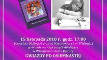 """Promocja tomiku """"Dokarmianie motyli"""" Magdaleny Kapuścińskiej"""