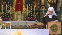WKościele Sióstr Bernardynek miały miejsce pierwsze śluby zakonne siostry Alberty Droździk