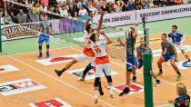 """Jastrzębski Węgiel wygrał pierwszy mecz turnieju """"Wielton Giganci Siatkówki"""" zVfb Friedrichshafen"""