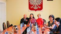 Spotkanie zdoradcą Ośrodka Wsparcia iEkonomii Społecznej aby zachęcić dogłosowania wBudżecie Obywatelskim