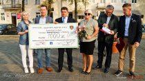 """Zturnieju """"Wielton Giganci Siatkówki"""" Fundacja """"Dotknij Pomocy"""" otrzymała ponad 41 tysięcy złotych"""