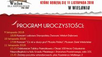 Uroczystości powiatowe 100-lecia Odzyskania Niepodległości