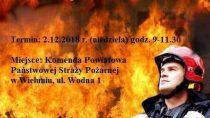 """Kolejna zbiórka krwi w ramach akcji """"Ognisty ratownik – gorąca krew"""""""
