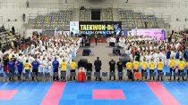 Sportowy Klub Taekwon-do Niedźwiedź zdobył wOpolu osiemnaście medali