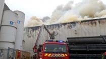 Pożar Zakładu nr1 Wielton S.A. wWieluniu