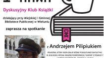 Spotkanie z pisarzem Andrzejem Pilipiukiem