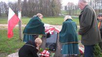 WPątnowie odsłonięto Obelisk upamiętniający 100-lecie odzyskania przezPolskę niepodległości