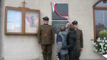 100 lat Niepodległej iodsłonięcie tablicy pamiątkowej wKraszkowicach