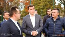 Minister Sportu iTurystyki Witold Bańka odwiedził Wieluń